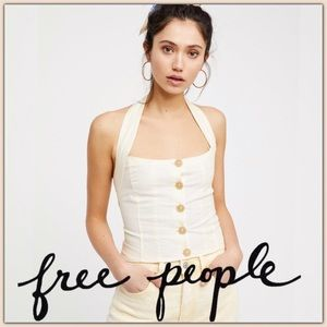 NWT Free People Is This Love Halter Top
